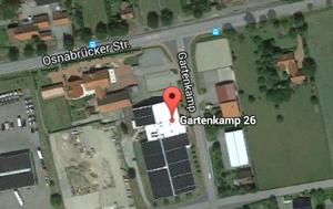 Tennis- und Badmintonhalle am ``Break Point``
